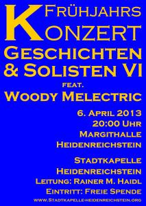 Plakat Frühjahrskonzert 2013