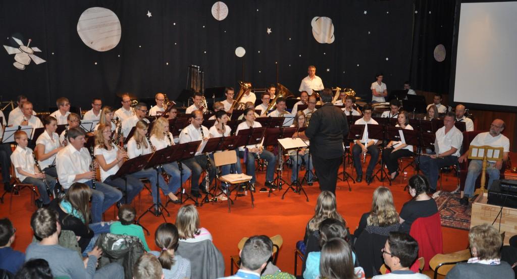 Orchester im Volksheim